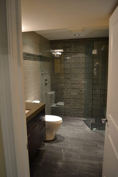 Basement Bathroom Remodel East Lakeview - Barts Remodeling Chicago IL