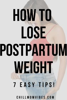 For many women, post-pregnancy weight loss can be a tought. Use these 7 tips to help you lose the stubborn weight and get your pre-baby body back. Postpartum Hair Loss, Postpartum Care, Losing Weight Postpartum, Postpartum Recovery, Easy Weight Loss Tips, Ways To Lose Weight, Everyday Workout, High Intensity Interval Training