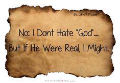   PictureQuotes.com Atheist Funny, Picture Quotes, Meme, Facebook, Memes