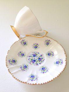 Vintage English Bone China Teacup and Saucer by MariasFarmhouse