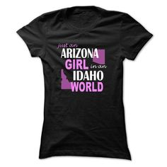 ARIZONA GIRL IN IDAHO T-SHIRTS, HOODIES, SWEATSHIRT (21$ ==► Shopping Now)