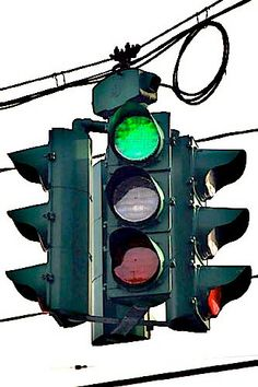 The traffic light in the Tipperary Hill section of Syracuse (aka Tipp Hill), where the beer flows green on St. Patrick's day.  The only traffic light with the green on top!