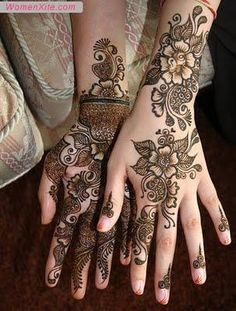 Henna for hands, beautiful henna design