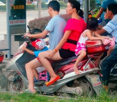 Just another day in China.
