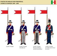 Presidial Cavalry  1846-48