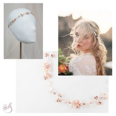 Wondering how you could wear a delicate, ethereal #hairvine? Just look at our #moodboards for inspiration. Or take a look at www.mscarves.ro! #mbridal #capsulecollection #accessories #fashion #beads #handmade