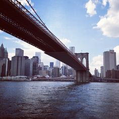Brooklyn Bridge, Manhattan, New York City #NYC