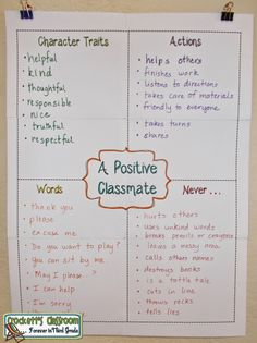 Building a positive classroom environment--Crockett's Classroom Forever in Third Grade