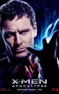 'X-Men: Apocalypse' (2016) Character Poster, Michael Fassbender