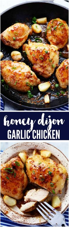 A quick and easy 30 minute meal that is packed with amazing honey dijon garlic flavor! The chicken is so juicy and tender and the sauce is sweet and tangy... you are going to love it! therecipecritic.com