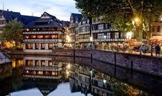 Strasbourg, German style town in france. Might be too far but if we're in area worth a trip. The Places Youll Go, Places To See, Hidden Places, Amazing Destinations, Travel Destinations, Petite France, What To Do Today, Beaux Villages, Voyage Europe