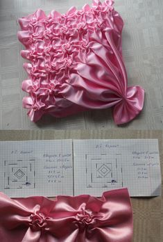 Embroidery Fabric Manipulation Smocking Tutorial 26 Ideas For 2019 Silk Ribbon Embroidery, Embroidery Stitches, Embroidery Patterns, Hand Embroidery, Smocking Tutorial, Smocking Patterns, Sewing Patterns, Dress Patterns, Textile Manipulation