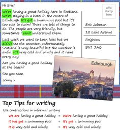 A postcard from Scotland | LearnEnglish Teens | British Council
