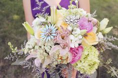 another angle of the bride bouquet <3