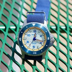 In Review: Farr + Swit Wayfinder Watch Websites, Luminous Paint, Bright Color Schemes, Play The Video, Shades Of Blue, Summer Time, Bracelet Watch, The Neighbourhood, The Neighborhood