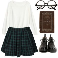 #53 by nadiasxox on Polyvore featuring moda and Monki