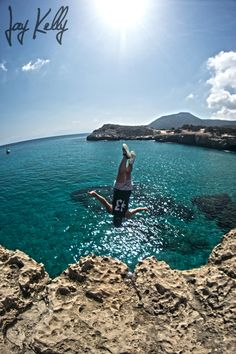 Cyprus cliff diving Diving Quotes, Cliff Diving, Cyprus, Jamaica, Greece, Hawaii, Florida, California, Photography