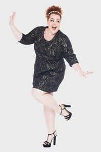 Feeling like Adele in this party dress... Flaminga Plus Size Store Model + Styling : Babu Carreira @São Paulo, Brazil