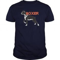 Awesome Tee BOXER DOG T shirts
