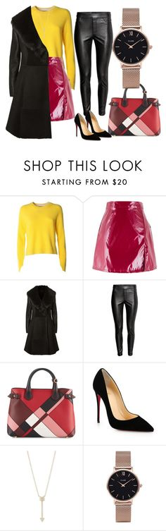 """""""Untitled #5"""" by bebebelabee on Polyvore featuring rag & bone, Elie Tahari, Burberry, Christian Louboutin, EF Collection and CLUSE"""