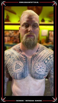 BIG WORK: Aaron Eisank   *Possible bodysuit in progress.  Tattooed by: Jim Orie Dragon Tattoo Becoming A Tattoo Artist, Tattoo Portfolio, Unique Tattoos, Tattoo Artists, Men Sweater, Dragon, Bodysuit, Memories, Big