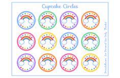 {Birthday/St Patrick's Day} Free Rainbow Printables