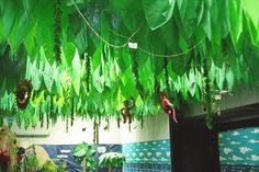 What's an island without a leaf canopy?