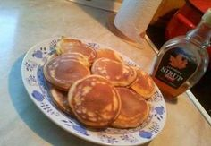 Americké lívance American Pancakes, Czech Recipes, Food And Drink, Thanksgiving, Sweets, Cooking, Breakfast, Mille Crepe, 35
