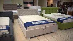 Łóżko Alessia z firmy Doria http://doria24.pl model prezentowany pod materac 140x200 z pojemnikiem w tkanie Stone Magic Home