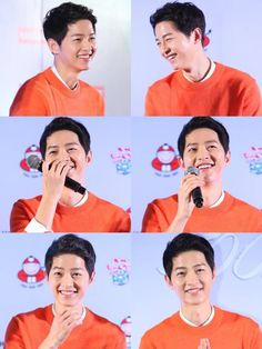 """When one of the reporters asked Song Joong Ki to tell them what his personality was like, he replied, """"I simply live my life by saying only what is needed, and that sort of defines my personality.""""  He went on, """"I always tell myself to remember that I am not living my life for anyone else except for myself. I try to live my life with decisiveness, avoiding being wishy-washy or straddling both sides of the line."""""""