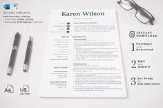 R45-Karen Wilson-11 Creative Cv Template, Simple Resume Template, Teacher Resume Template, Cover Letter Format, Cover Letter For Resume, Cover Letter Template, Cover Letters, Letter Templates, Resume Format