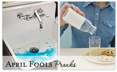 Just making every day different-celebrate the season! April Fools pranks-loved the orajel on hubby's toothbrush (I have some too)!