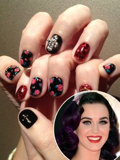 Katy Perry Celebrity Nails Nail Art Nailart Cool Diy