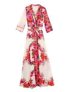 Vestido camisero de flores de Heaven de Dolores Promesas.