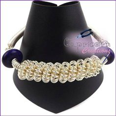 Coiled Wire Bracelet - The Supermums Craft Fair