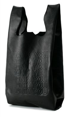 Lambskin grocery bag purse by Cast of Vices....wow, I really love this.  I am in need of a black purse...