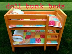 "That's My Letter: ""B"" is for Bunk Beds  -- not orange, but has a pattern for the blankets, too!"