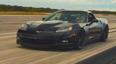Genovation, a startup based in Rockville, Maryland, has earned a new land speed record using a C6 Chevrolet Corvette converted to run on…