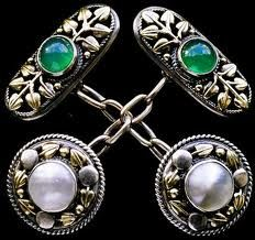 pearl cuff links - Google Search