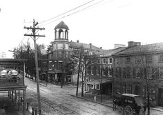 Germantown Ave and Mt. Airy Ave, Philadelphia, PA ca. 1890s.  The domed building is still there.