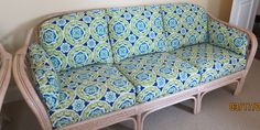 Sofa to be painted blue