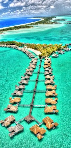 I want to go here!,, Bora Bora, Tahiti - this is absolutely a DREAM vacation spot! Honeymoon perhaps? (Assuming I ever find some poor schmuck crazy enough to marry me lol) Dream Vacation Spots, Vacation Places, Dream Vacations, Places To Travel, Honeymoon Places, Vacation Travel, Honeymoon Destinations, Romantic Vacations, Italy Vacation
