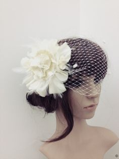 Julianna crystal head piece swarovski by DreamcatcherStudio, $269.00