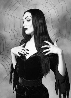 Maila Nurmi - met her at a McDonald's on Sunset Junction in LA in 2003. She commented on my Frida bag - she didn't like her - said she was unladylike because she refused to pluck her eyebrows. Maila Nurmi was not too pleasant company at age 81.