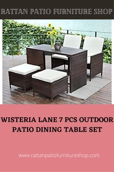 Made of strong galvanized steel frame,weather-resistant hand woven PE rattan can withstand changeable weather,won't rust or fade,guaranteed to give you a weather resistant set that will last your for years to come.Removable zippered cushions make cleaning easier.