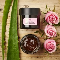 Glow for it this weekend! Apply a 100% vegan British Rose Mask infused with rose essence, rosehip oil, and Community Trade aloe vera tonight for smoother skin tomorrow.