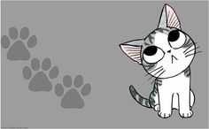 Chi's Sweet Home Anime. Chi Le Chat, Chi's Sweet Home, Cat Character, Kawaii Cat, Baby Kittens, Here Kitty Kitty, Cat Drawing, Pictures To Draw, Illustrations