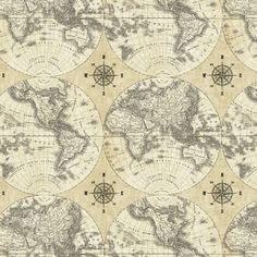 Kaffe fassett gp120 map green cotton fabric 1 by flyingbulldogs world maps multi by sue schlabach for windham fabrics world maps is a collection by sue schlabach for windham fabrics this fabric features vintage flat gumiabroncs Gallery