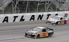 Atlanta Motor Speedway. The need for speed! I would love to zoom around the track.
