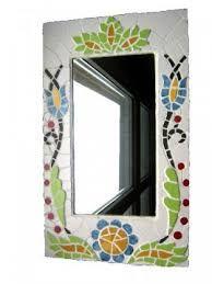 Imagini pentru lusterko ozdobione mozaiką